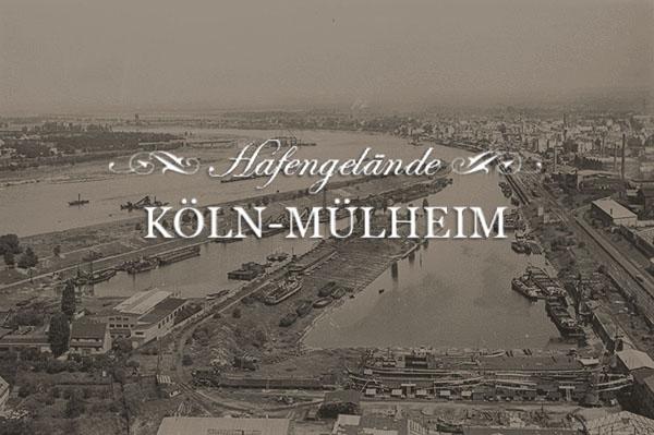 Hafengelände Köln-Mülheim