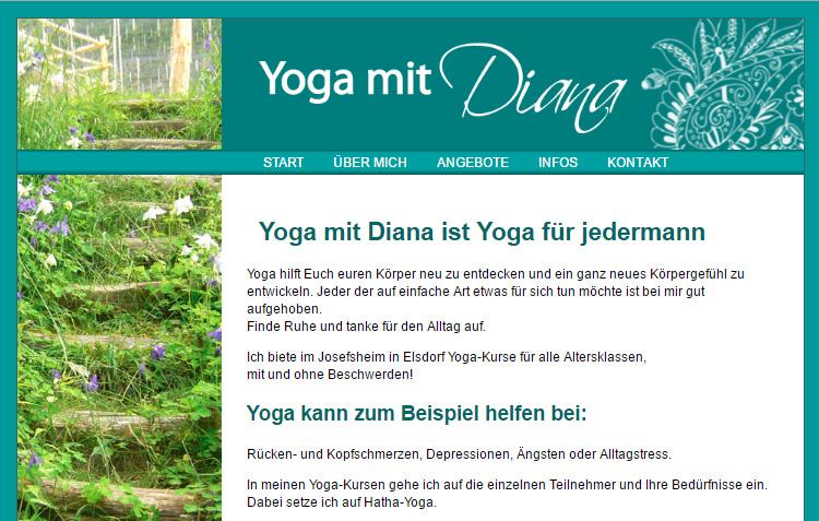 Diana Jung-Vollmann - Yoga mit Diana
